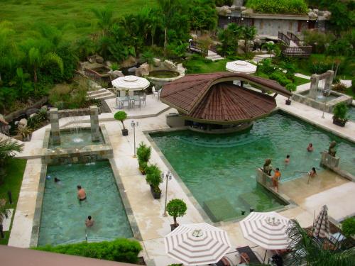 Pools Make A Playground In La Fortuna Costa Rica