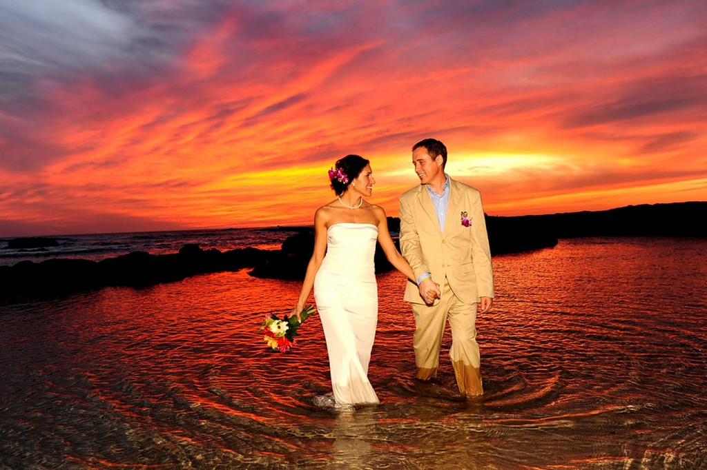 Costa Rica Wedding Sunset